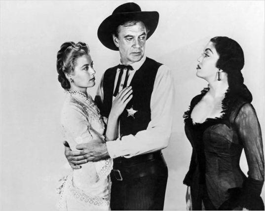 Grace Kelly, Gary Cooper y Katy Jurado. Solo ante el peligro. Dirigida por Fred Zinnemann. 1952